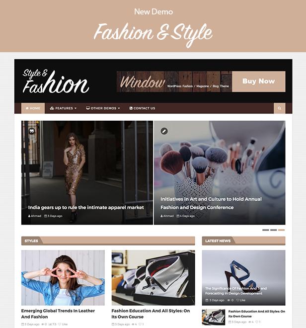 WindowMag - Responsive News / Magazine / Blog Theme - 2